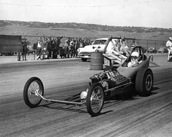 Mark Williams First Chassis 1964